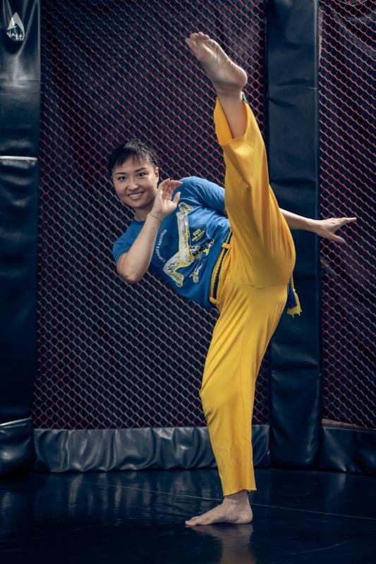 横浜の総合格闘技&キックボクシング&柔術 リバーサルジム「グランドスラムオンラインレッスン」 田口 裕子画像1