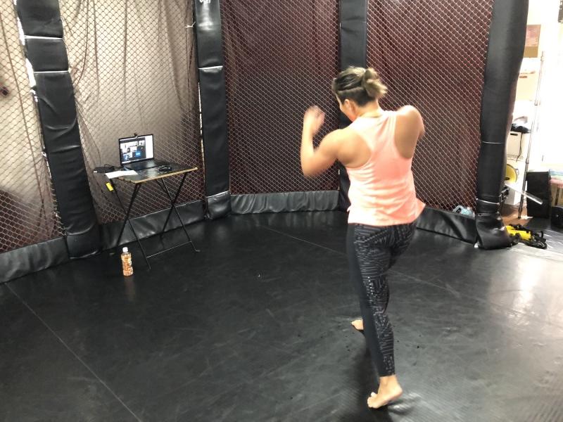 横浜の総合格闘技&キックボクシング&柔術 リバーサルジム「グランドスラムオンラインレッスン」 カーディオフィットネスキックボクシング画像1