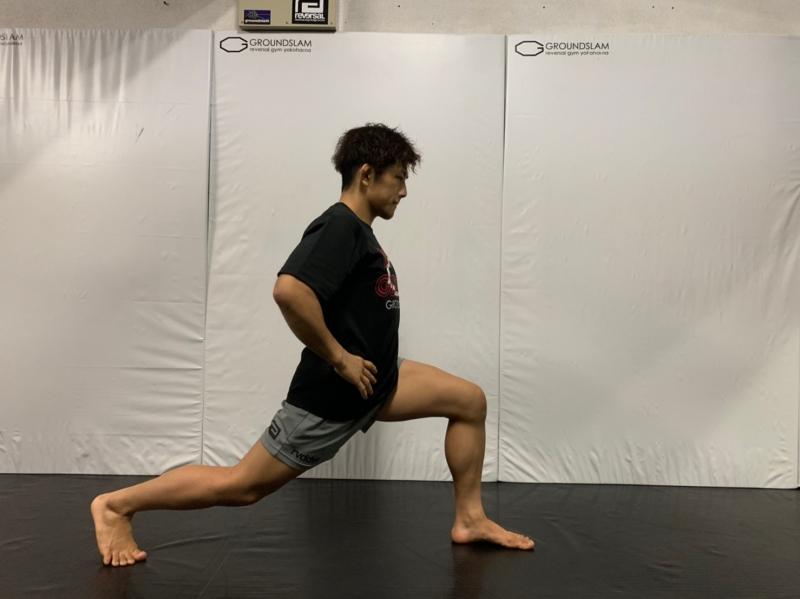 横浜の総合格闘技&キックボクシング&柔術 リバーサルジム「グランドスラムオンラインレッスン」 お尻トレーニング画像1