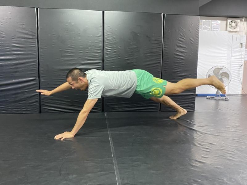 横浜の総合格闘技&キックボクシング&柔術 リバーサルジム「グランドスラムオンラインレッスン」 かっこよく水着を着こなそう!腹筋祭り!!画像1