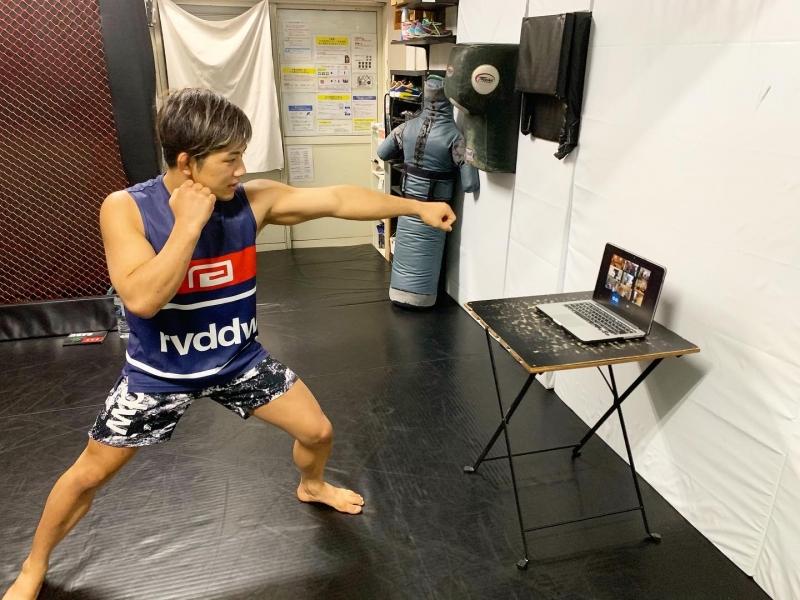 横浜の総合格闘技&キックボクシング&柔術 リバーサルジム「グランドスラムオンラインレッスン」 脂肪燃焼キックエクササイズ画像1